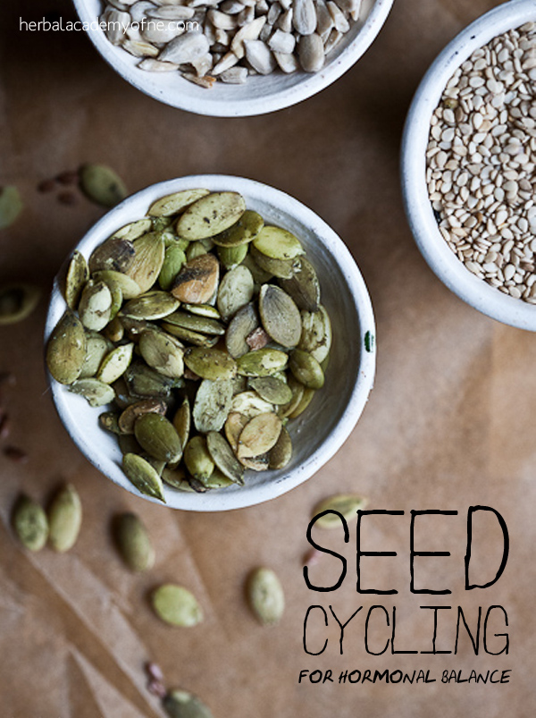 Seed Cycling for Hormonal Blance - Herbs for Women