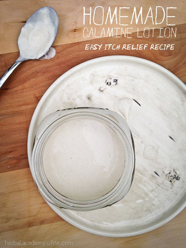 Homemade Calamine Lotion - Quick and Easy Itch Relief Remedy