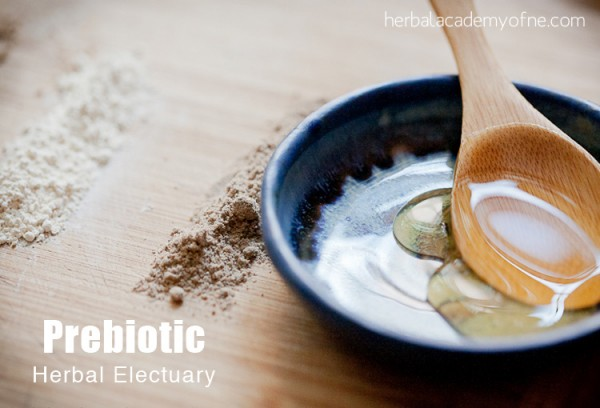 Prebiotic Herbal Electuary Recipe to Support Healthy Gut Flora