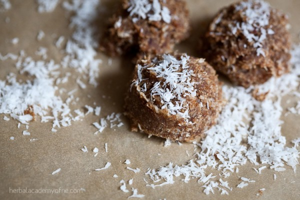 Delicious Maca-Roons Recipe by the Herbal Academy of New England