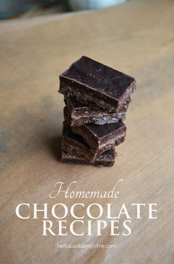 Homemade Chocolate Recipes for Decadent Herbal Chocolates using herbs and spices