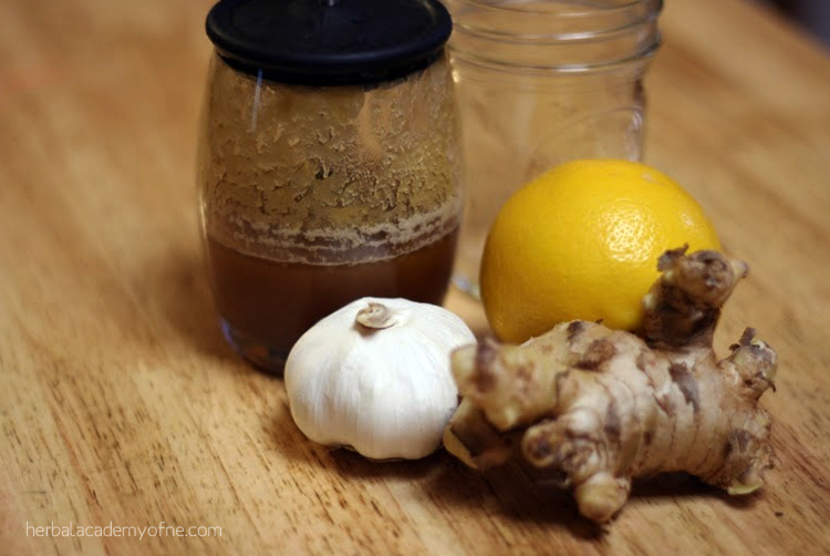 Kitchen Medicine- A Simple Cold and Flu Remedy on the HANE blog