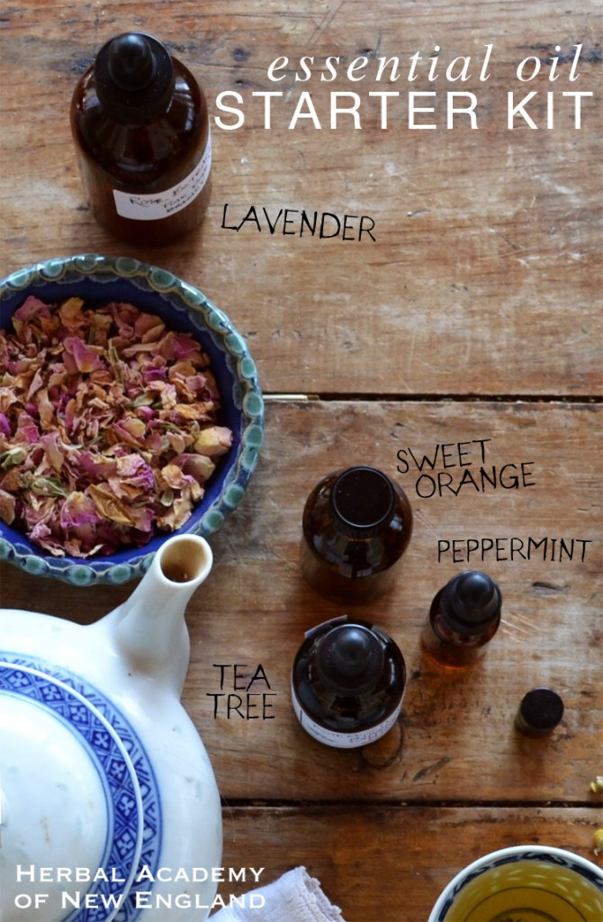 Basic Essential Oils to get you started