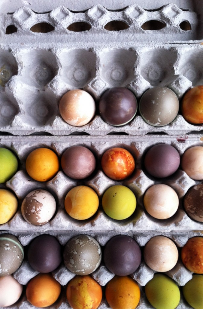 DIY Easter Egg Coloring with Natural Dyes