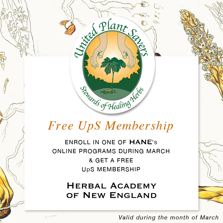 United Plant Savers is Free with March Enrollment at HANE