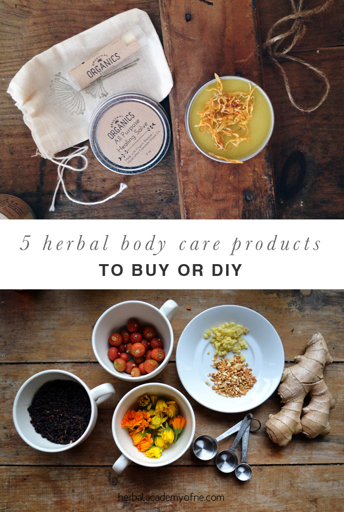 5 Herbal Body Care Products to Buy or DIY