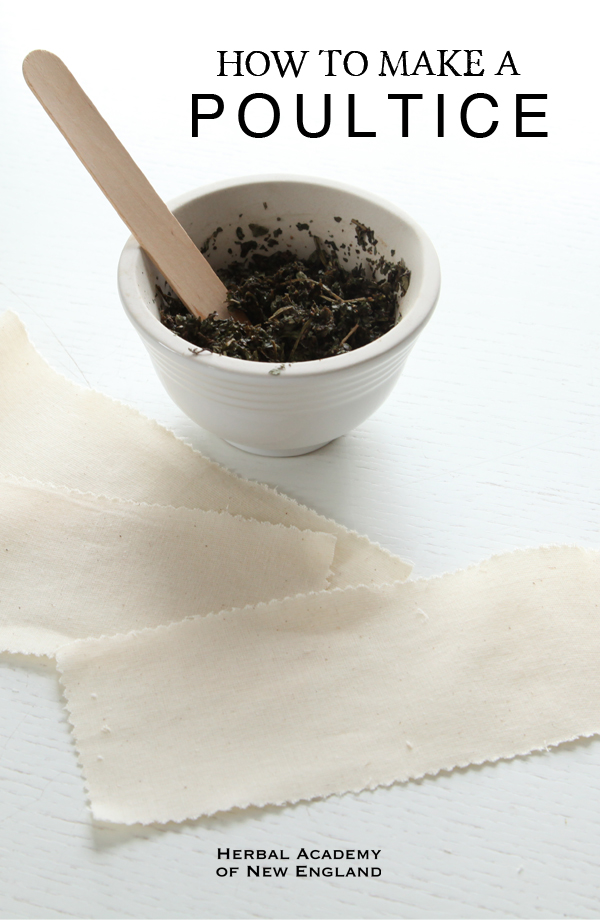 How to Make a Poultice Using Fresh Herbs and Dried Herbs
