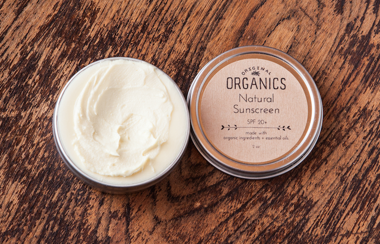 Sunscreen by Original Organics - Herbal Body Care Products To Buy or DIY?